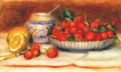 renoir strawberries c1905