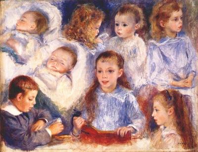 renoir studies of the berard children