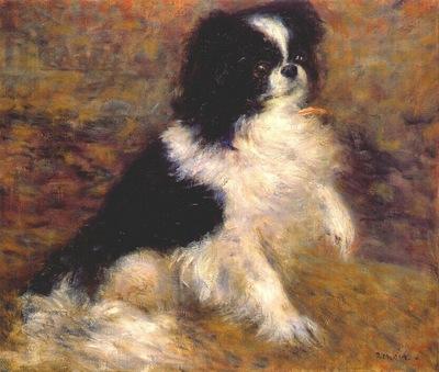 renoir tama the japanese dog c1876