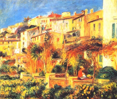 renoir terrace in cagnes