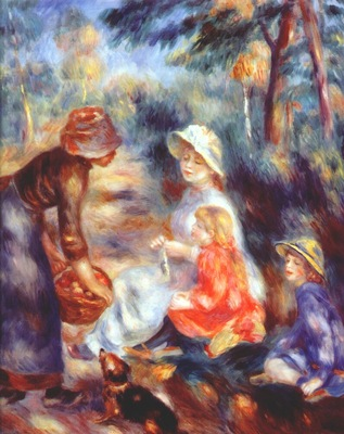renoir the apple seller