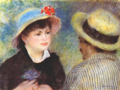 renoir the boaters 1880
