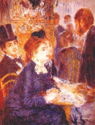 renoir the cafe c1876