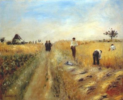 renoir the harvesters