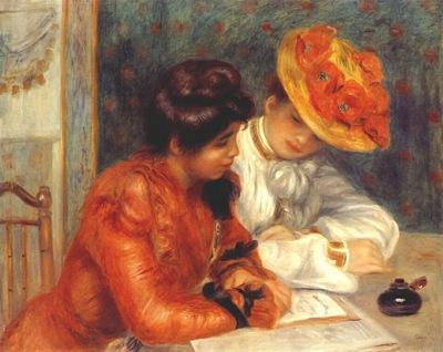 renoir the letter c1895