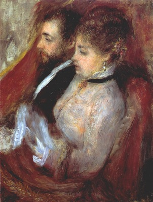 renoir the little theater box 1873
