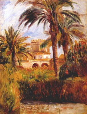 renoir the test garden in algiers