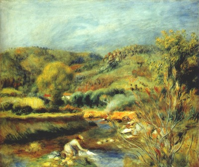 renoir the washerwoman c1891
