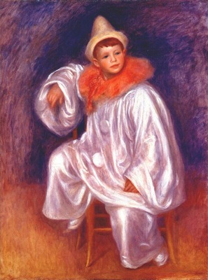 renoir the white pierrot jean renoir 1901