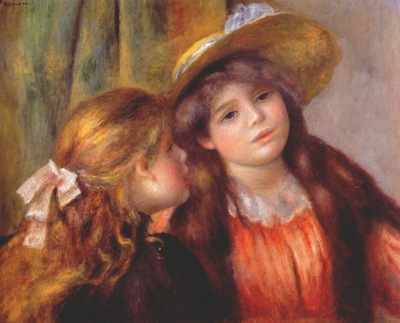 renoir two girls 1890