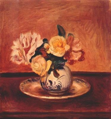 renoir vase of flowers