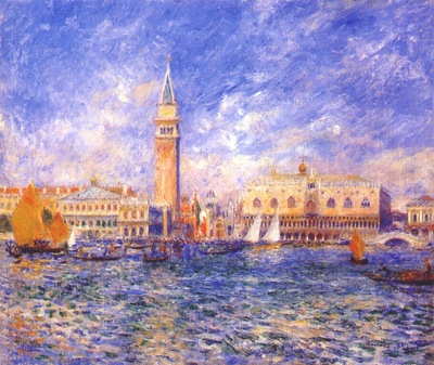 renoir venice, the doges palace