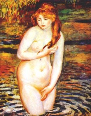 renoir young woman bathing