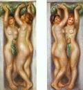 Pierre Auguste Renoir Caryatides