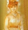 Pierre Auguste Renoir Portrait of a Woman