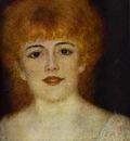 Pierre Auguste Renoir Portrait of the Actress Jeanne Samary detail