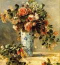 Pierre Auguste Renoir Roses et jasmin dans un vase de Del