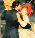 Renoir, Pierre Auguste Dance in the Country detail end