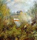 Renoir Auguste At the Seine at Argenteuil Sun