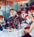 Renoir Auguste Breakfast for the rowers Sun