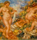 Renoir Bathers Les baigneuses , ca 1918, 80x65 cm, Barnes f