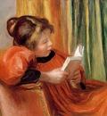 Renoir La lecture A girl reading , ca 1890, Museum of Fine