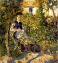 Renoir Nini in the garden, 1875 76, Philadelphia Museum of A
