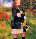 Renoir Pierre Auguste Girl with umbrella Sun