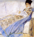 Renoir Pierre Auguste Madame Monet Sun