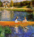Renoir Pierre Auguste The Seine near Asnires Sun