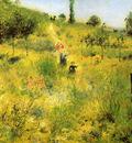 Renoir Pierre Auguste Winding path in the green