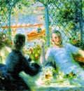 Renoir The canoeists luncheon, 1879 80, 55 1x65 9 cm, The A