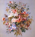 renoir a bouquet of roses
