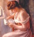 renoir a girl reading