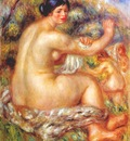 renoir after the bath 1910