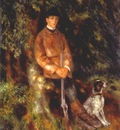 renoir alfred berard and his dog