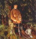 renoir alfred berard and his dog