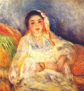 renoir algerian woman seated