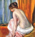 renoir back view of a bather