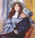 renoir berthe morisot and her daughter julie manet