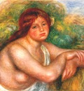 renoir bust of nude c1910