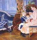 renoir childrens afternoon at wargemont marguerite lucie and marthe berard