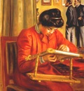 renoir christine lerolle embroidering