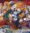 renoir chrysanthemums 1881