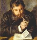 renoir claude monet the reader 1873