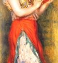 renoir dancing girl with tambourine