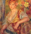 renoir dedee in spanish dress 1914