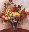 renoir flowers in a vase c1898