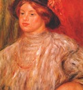 renoir gabrielle with a large hat c1900