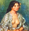renoir gabrielle with open blouse c1907